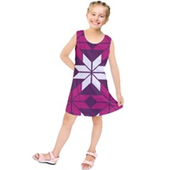 Pattern Background Texture Aztec Kids  Tunic Dress