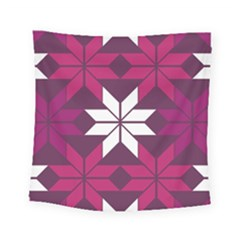 Pattern Background Texture Aztec Square Tapestry (small)