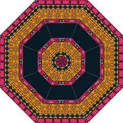 Pattern Ornaments Africa Safari Summer Graphic Hook Handle Umbrellas (medium)