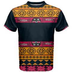 Pattern Ornaments Africa Safari Summer Graphic Men s Cotton Tee