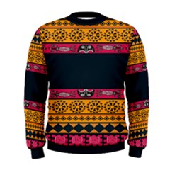 Pattern Ornaments Africa Safari Summer Graphic Men s Sweatshirt