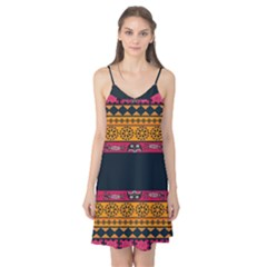 Pattern Ornaments Africa Safari Summer Graphic Camis Nightgown