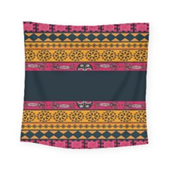 Pattern Ornaments Africa Safari Summer Graphic Square Tapestry (small)