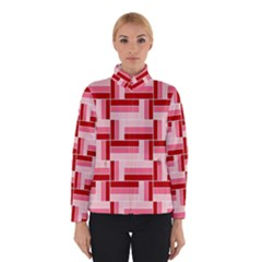 Pink Red Burgundy Pattern Stripes Winterwear