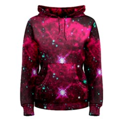 Pistol Star And Nebula Women s Pullover Hoodie