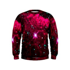 Pistol Star And Nebula Kids  Sweatshirt