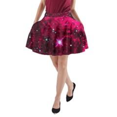 Pistol Star And Nebula A-Line Pocket Skirt