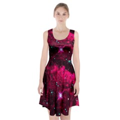 Pistol Star And Nebula Racerback Midi Dress