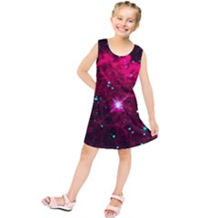 Pistol Star And Nebula Kids  Tunic Dress