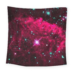 Pistol Star And Nebula Square Tapestry (large)