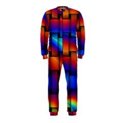 Rainbow Weaving Pattern Onepiece Jumpsuit (kids)
