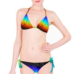 Rainbow Color Prism Colors Bikini Set
