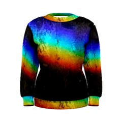 Rainbow Color Prism Colors Women s Sweatshirt