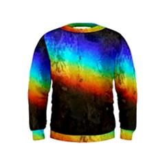 Rainbow Color Prism Colors Kids  Sweatshirt