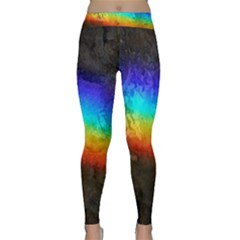Rainbow Color Prism Colors Classic Yoga Leggings