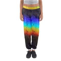 Rainbow Color Prism Colors Women s Jogger Sweatpants