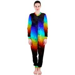 Rainbow Color Prism Colors Onepiece Jumpsuit (ladies)