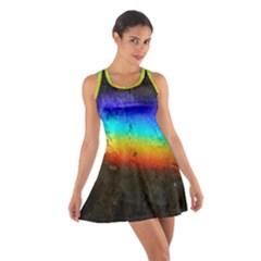 Rainbow Color Prism Colors Cotton Racerback Dress