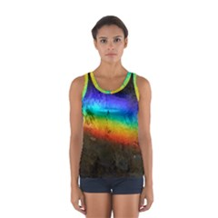 Rainbow Color Prism Colors Women s Sport Tank Top