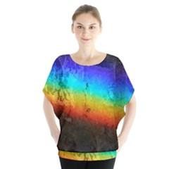 Rainbow Color Prism Colors Blouse