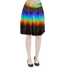Rainbow Color Prism Colors Pleated Skirt