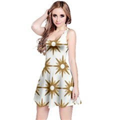 Seamless Repeating Tiling Tileable Reversible Sleeveless Dress