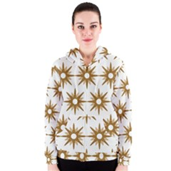 Seamless Repeating Tiling Tileable Women s Zipper Hoodie
