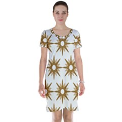 Seamless Repeating Tiling Tileable Short Sleeve Nightdress