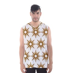 Seamless Repeating Tiling Tileable Men s Basketball Tank Top