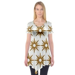 Seamless Repeating Tiling Tileable Short Sleeve Tunic
