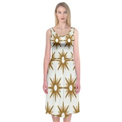 Seamless Repeating Tiling Tileable Midi Sleeveless Dress