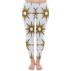 Seamless Repeating Tiling Tileable Classic Winter Leggings