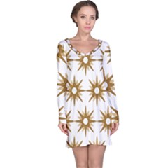 Seamless Repeating Tiling Tileable Long Sleeve Nightdress