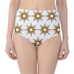 Seamless Repeating Tiling Tileable High Waist Bikini Bottoms