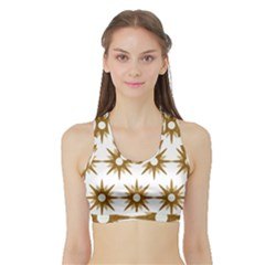 Seamless Repeating Tiling Tileable Sports Bra With Border