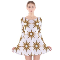 Seamless Repeating Tiling Tileable Long Sleeve Velvet Skater Dress