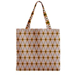 Seamless Wallpaper Background Zipper Grocery Tote Bag