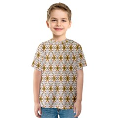 Seamless Wallpaper Background Kids  Sport Mesh Tee