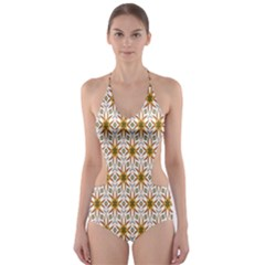 Seamless Wallpaper Background Cut-Out One Piece Swimsuit