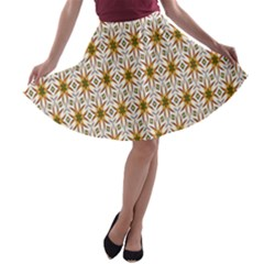 Seamless Wallpaper Background A Line Skater Skirt