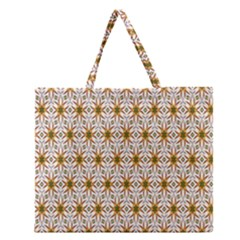 Seamless Wallpaper Background Zipper Large Tote Bag