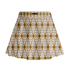 Seamless Wallpaper Background Mini Flare Skirt