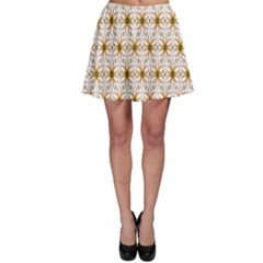 Seamless Wallpaper Background Skater Skirt
