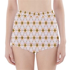 Seamless Wallpaper Background High Waisted Bikini Bottoms