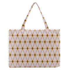 Seamless Wallpaper Background Medium Zipper Tote Bag