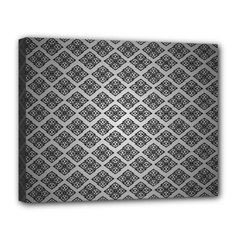 Silver The Background Canvas 14  X 11
