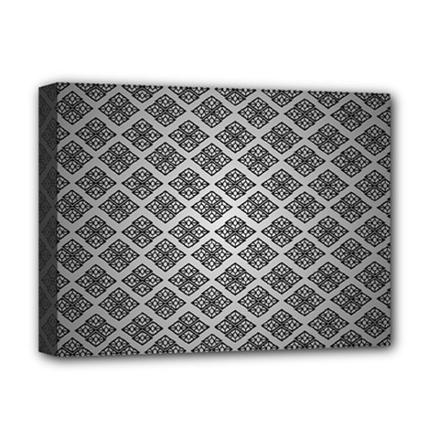 Silver The Background Deluxe Canvas 16  X 12