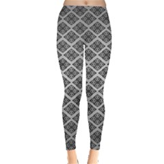 Silver The Background Leggings
