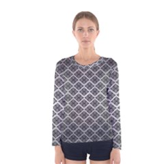 Silver The Background Women s Long Sleeve Tee