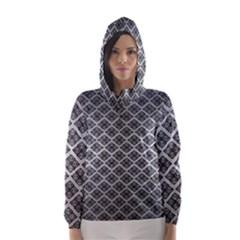 Silver The Background Hooded Wind Breaker (women)